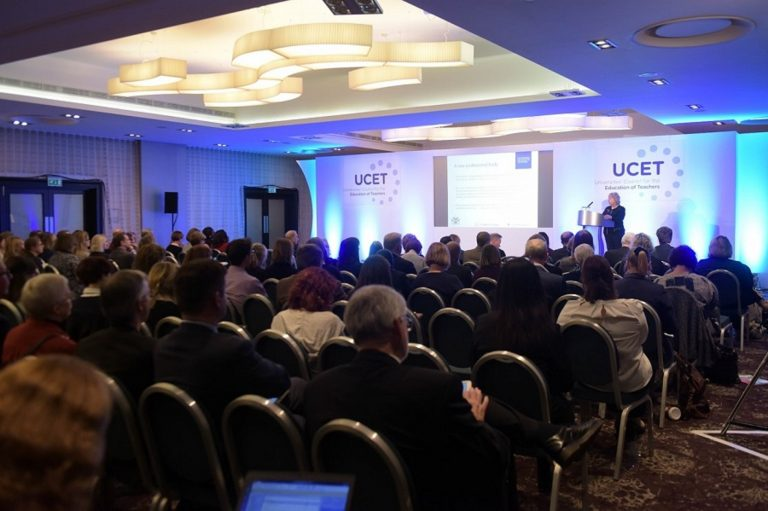 Delegates at the UCET conference 2017